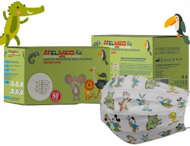 Masti igienice pentru copii, de unica folosinta,Set 50 bucati