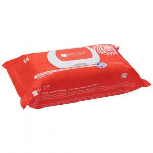Servetele umede antibacteriene pentru maini, 72 bucati/pachet, Sense